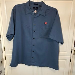 Bill Blass Button Up Short Sleeve XL